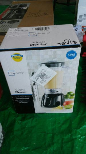 Main stays 6 speed blender for Sale in Middletown, OH