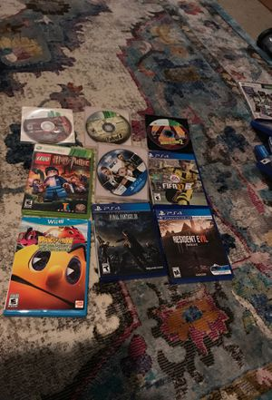 Video game lot mixed for Sale in Everett, WA