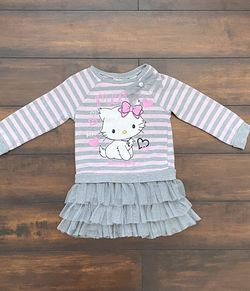 Baby Girl Clothes Toddler Hello Kitty Sweater Dress Size 4T for Sale in Los Angeles,  CA