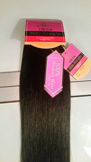 Silky Straight 100% human hair extensions for Sale in Downey, CA