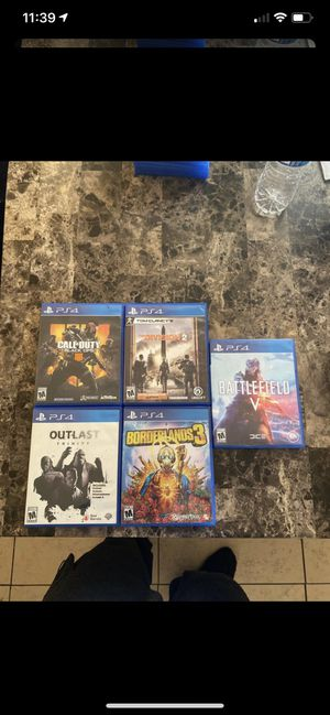PS4 Games for Sale in South Gate, CA