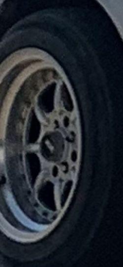 Honda Rims 4 Lug Acura Tires Universal Drift for Sale in Fresno,  CA