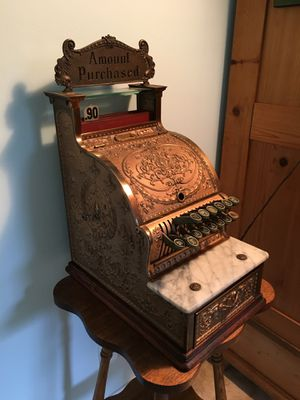 """National Cash Register model 313 """" candy store /barbershop register made in 1910. Functional. Great conversation piece for Sale in Nipomo, CA"""