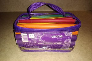 Diane By Fromm 42 Pack Twist Flex Rods Foam Hair Curlers Styling Tools Curly Set for Sale in South Zanesville, OH