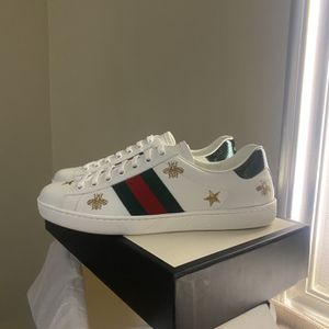 Gucci Men's Ace Embroidered Sneaker Size 9 9.5 for Sale in Hacienda Heights, CA