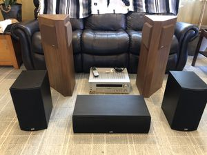 Complete Sound System Bose 401, PSB 8C & 2B with SONY Theater system for Sale in San Diego, CA