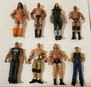 Lot of WWE Action Figures 2011, 2013, 2014 for Sale in Newberry Springs, CA