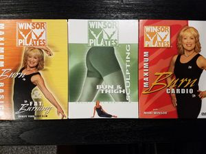 Windsor pilates - 3 DVDs for Sale in Seattle, WA