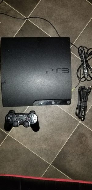 A PS3 with 1 controller for Sale in Providence, RI