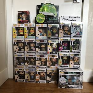 Funko Pops Collection/ Toys/ Hyped for Sale in Miami, FL