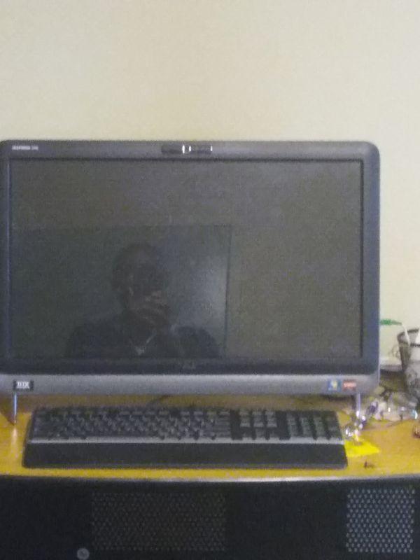 It's a touch screen Dell desktop