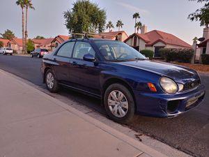 2002 Subaru Impreza RS for Sale in Tempe, AZ