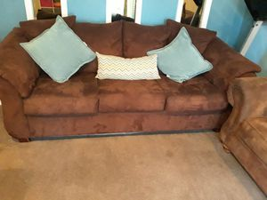 Free couches and pillows for Sale in Commerce City, CO