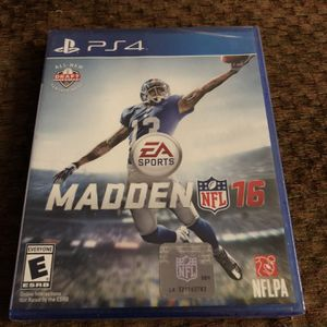 PS4 Madden 16 for Sale in Houston, TX