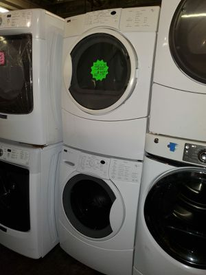 Kenmore front load washer and dryer set working perfectly 4 months warranty for Sale in Baltimore, MD