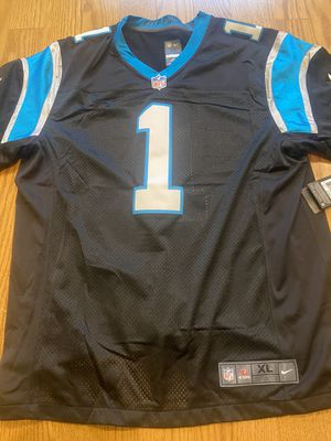 Nike $150 On Field Cam Newton Panthers Jersey xl for Sale in St. Petersburg, FL
