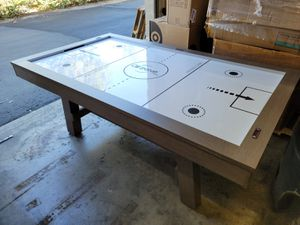 "AirZone air Hockey table. 4'x7'x32"". Has a few cosmetic flaws, does not affect play. Paddles and puck not included. $200 FIRM for Sale in Redlands, CA"