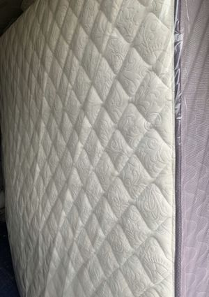 """1yr used - Queen Size - 13"""" FIRM ASHLEY SLEEP -Mattress With Used Box for Sale in Dallas, TX"""