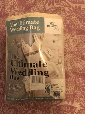 Wedding dress bag for Sale in San Jose, CA
