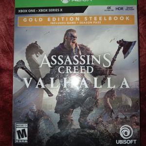 Gold Edition Assassin's Creed Valhalla Xbox for Sale in Santa Maria, CA