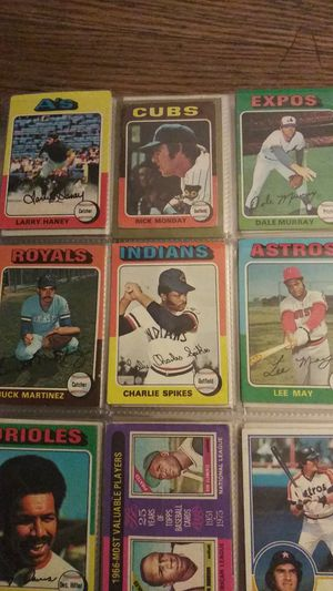Vintage 1980s topps baseball cards for Sale in Concord, CA