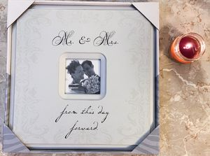 """Malden International Designs Wedding """"Mr. and Mrs. Expression"""" Picture Frame, 4 for Sale in Waterbury, CT"""