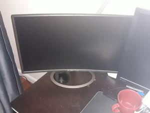 Sceptre 24 in curved gaming monitor. for Sale in Queens, NY