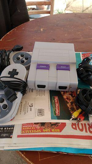 Super Nintendo for Sale in Bakersfield, CA