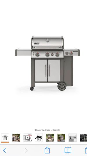 Weber genesis II S-335 grill BBQ for Sale in ROWLAND HGHTS, CA