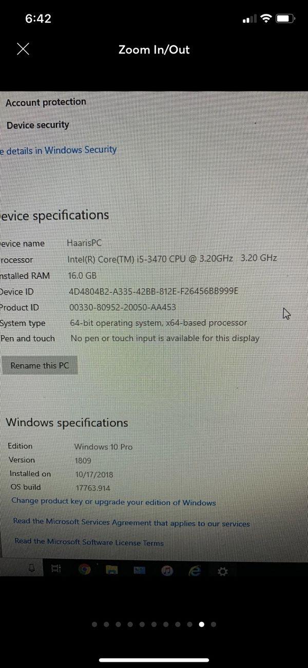 Gaming Pc i5 1060 Bundle