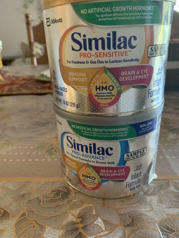 Similac pro Advance kids formula and pro sensitive