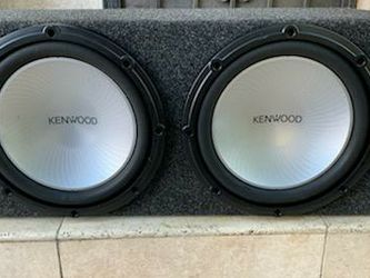12' KENWOOD SUBWOOFERS for Sale in Long Beach,  CA
