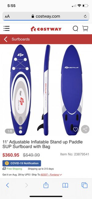 New inflatable paddle board for Sale in Clovis, CA