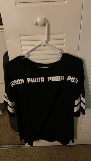 PUMA BLACK T-SHIRT SIZE XL for Sale in Tampa Palms, FL
