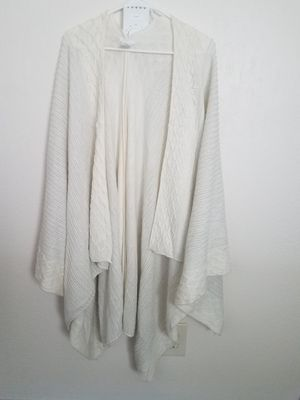 Off-white long shawl for Sale in Portland, OR