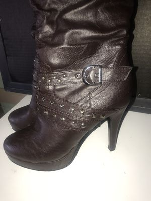 Knee Length Brown Boots for Sale in North Olmsted, OH
