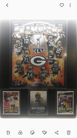 Greenbay packers superbowl championship plaque for Sale in CTY OF CMMRCE, CA