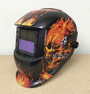 New $30 each Welding Helmet Auto Darkening Solar Grinding Mask Plasma, 3 Designs for Sale in El Monte, CA