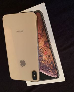 apple iPhone X S Max 256GB Gold unlocked 6.3 inch Big Screen 📺 new case and glass screen protector and same day I do deliver and meet up 👌 for Sale in Fremont, CA