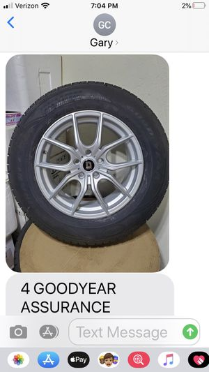 Goodyear tires mounted for Sale in Moon, PA