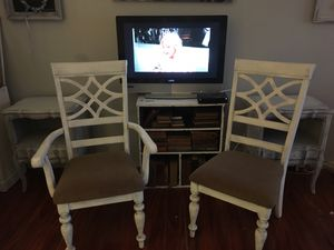 2 white rustic chairs for Sale in Clearwater, FL