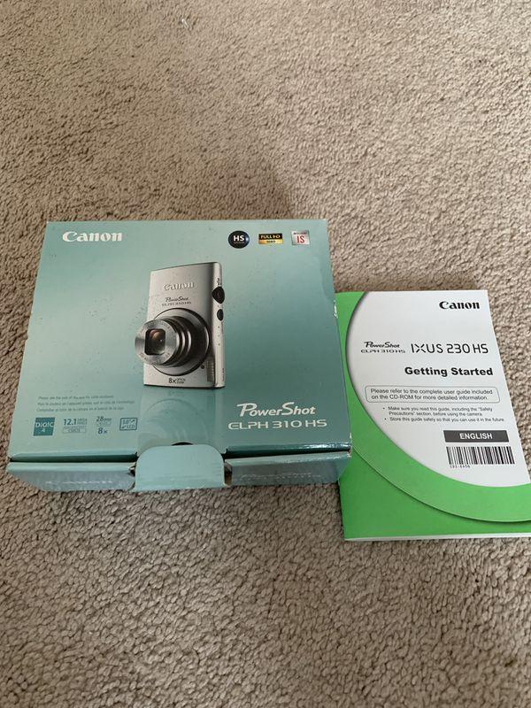 Canon PowerShot Elph 310 HS 12.1MP Digital Camera w/8x Zoom Black