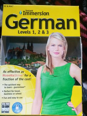 Instant immersion German for Sale in Woodbridge, VA