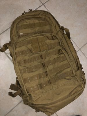 5.11 Rush 72 backpack 55L FDE for Sale in Miami, FL
