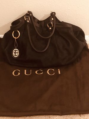 GUCCI AUTHENTIC BLACK FABRIC BAG for Sale in Bowie, MD