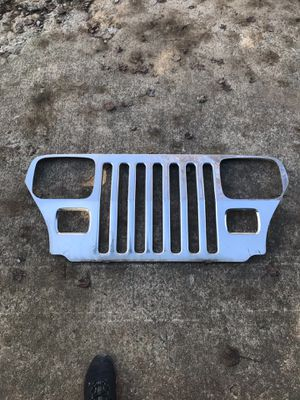 1987-95 jeep YJ chrome grill $50(OBO) for Sale in Monroe, NC