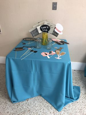 Wedding photo booth picture props for Sale in Pompano Beach, FL