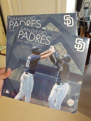 San Diego Padres 2020 Wall Calendar for Sale in Chula Vista, CA