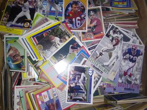 A box of football and baseball cards for Sale in Valley View, OH