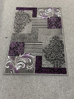 Purple And Grey Color Door Mat Size Area Rug Brand New for Sale in Salem,  OR